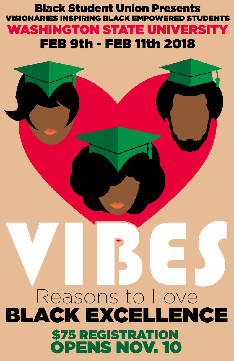 VIBES Logo with Theme of Reasons to love Black Excellence
